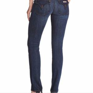 Hudson Straight Leg Jeans Size 29 W429DHK